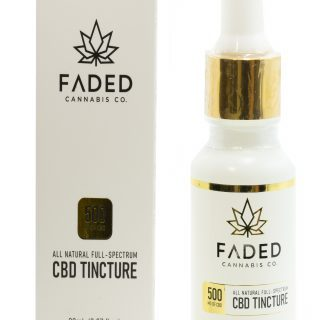 Faded Cannabis Co CBD Tinctures Online